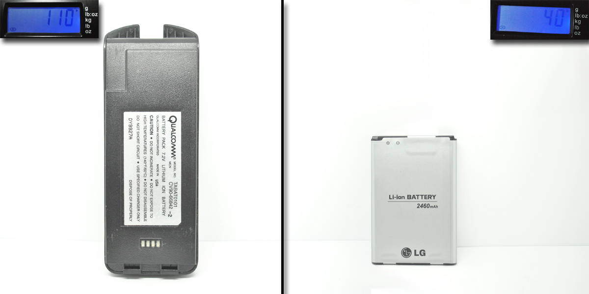 New Vs Old Cell Phone Battery
